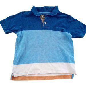 Gap Blue Short Sleeve Polo Boys XS 4T-5T